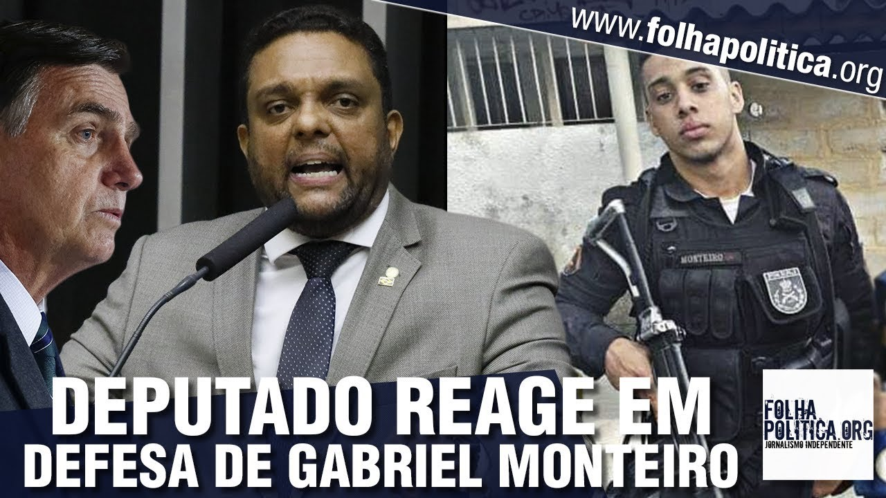 Deputado aliado de Bolsonaro defende policial militar Gabriel Monteiro e faz alerta: 'Expulso d