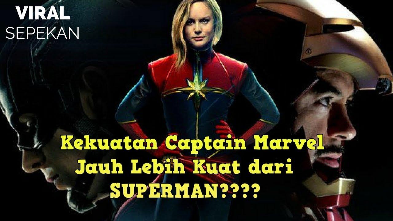 10 kekuatan captain marvel yang dapat mengalahkan thanos - youtube