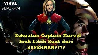 10 Kekuatan Captain Marvel yang Dapat Mengalahkan Thanos