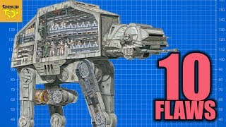 10 Flaws With the ATAT (All Terrain Armored Transport Walker)