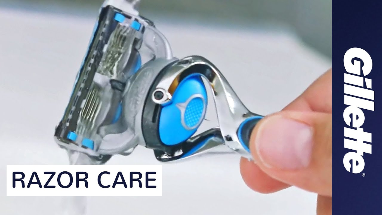 How to care for your razor | Blade cleaning and storage tips | Gillette