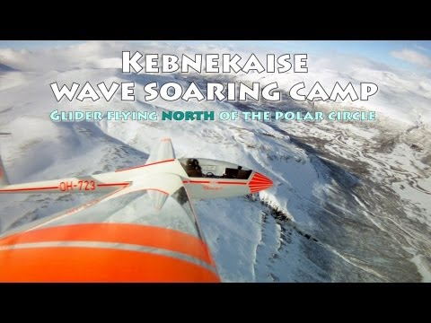 Wave Soaring North of the Polar Circle - Kebnekaise Wave Soaring Camp