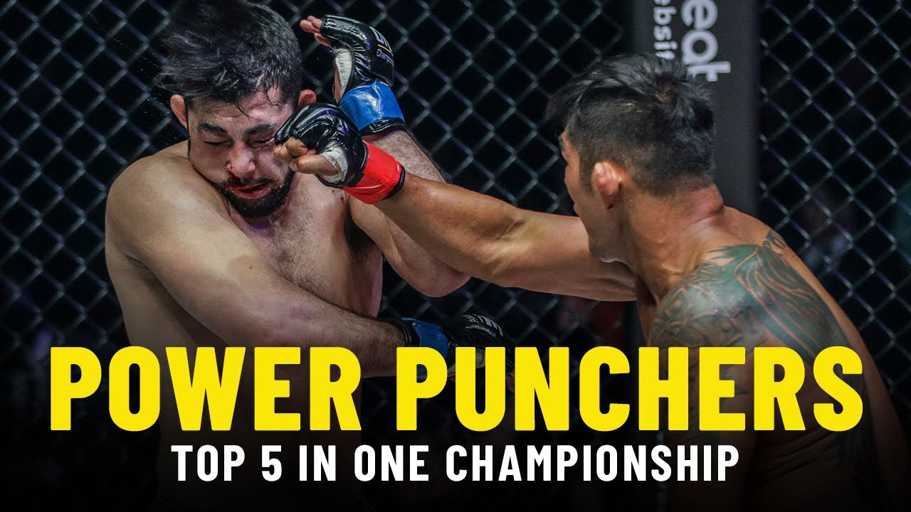 Top 5 Power Punchers In ONE Championship