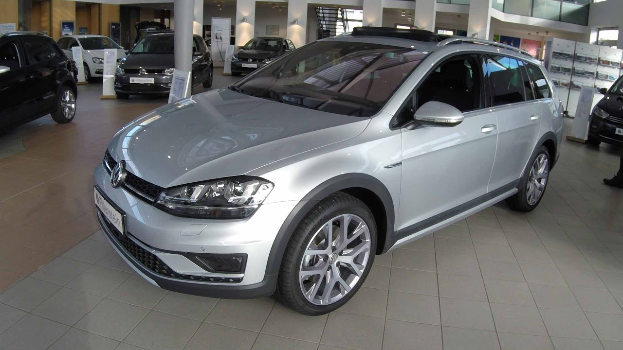 Vw Golf 7 Alltrack Variant Awd New Modell Silver - Metallic Farben Golf 7