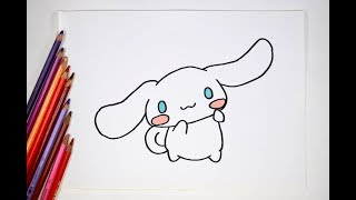 How to draw Cinnamoroll シナモロール
