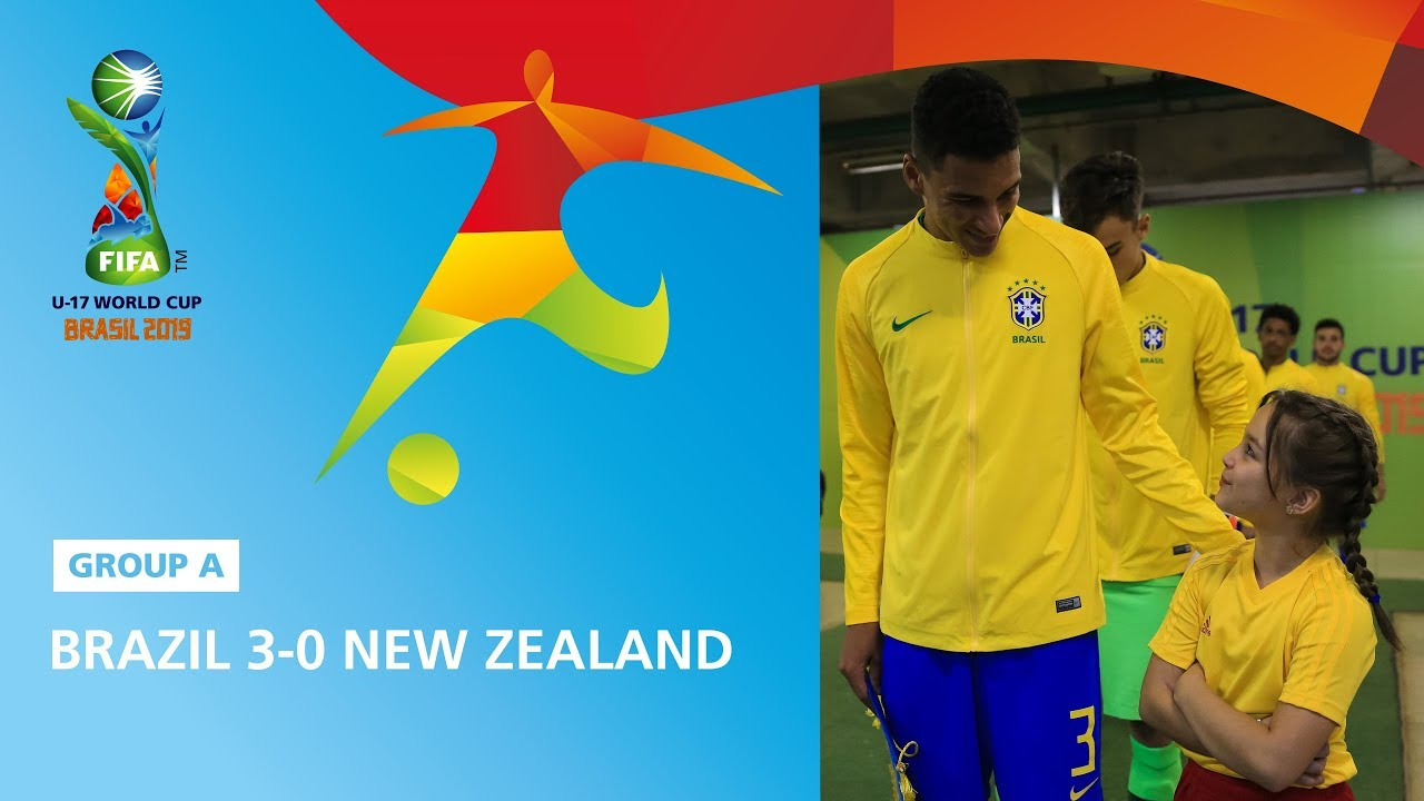 Calendrier Fifa 2019.Brazil V New Zealand Highlights Fifa U17 World Cup 2019