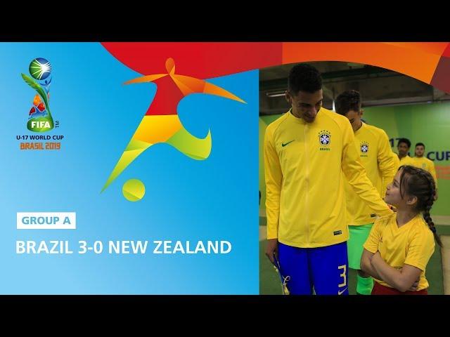 Brazil v New Zealand Highlights - FIFA U17 World Cup 2019 ™