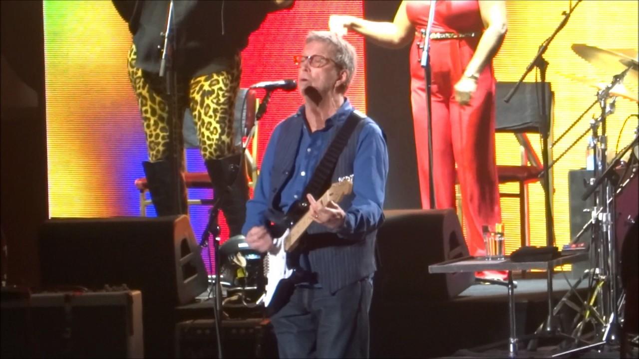 Eric Clapton Badge Madison Square Garden New York Ny March 19 2017 Youtube