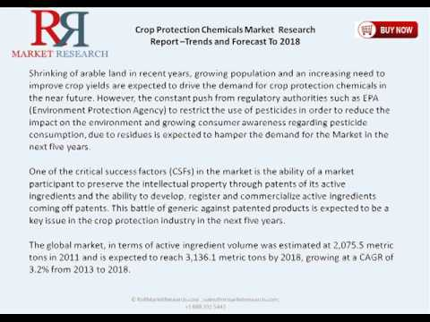 Crop Protection Chemicals Market to 2019