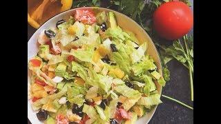Salmon Salad/Салат с Красной Рыбой