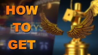 How to get DIY Golden Bloxy Wings | 2019 BLOXYS EVENT | ROBLOX