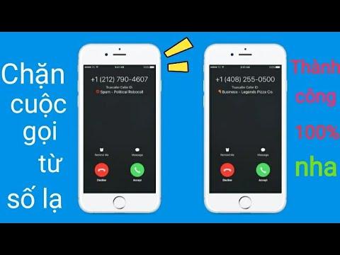 Cách chặn mọi cuộc gọi từ số lạ không có trên danh bạ
