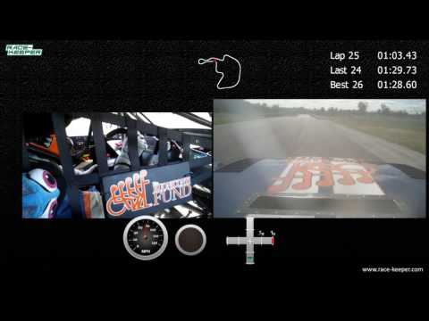 Ernie Francis Jr Racing Brainerd Trans Am Race Highlight