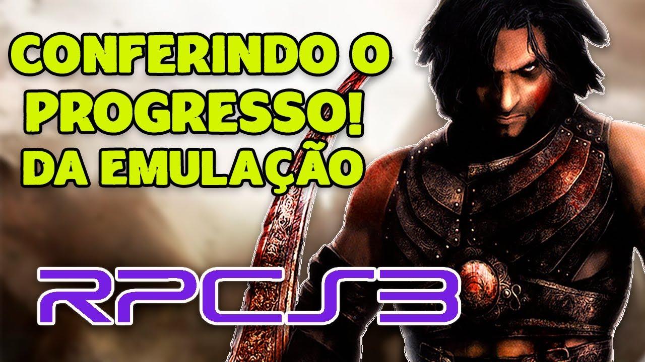 TRILOGIA PRINCE OF PERSIA no RPCS3   CONFERINDO O PROGRESSO NO EMULADOR DE PS3!