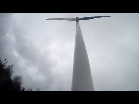 New Hampshire Wind Towers Up Close