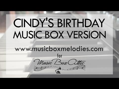 Cindy's Birthday By Johnny Crawford - Music Box Version