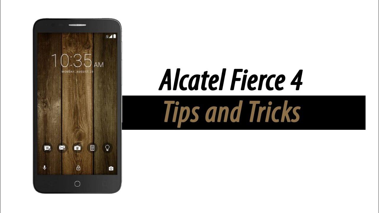 Alcatel Fierce 4 Tips and Tricks Videos - Waoweo