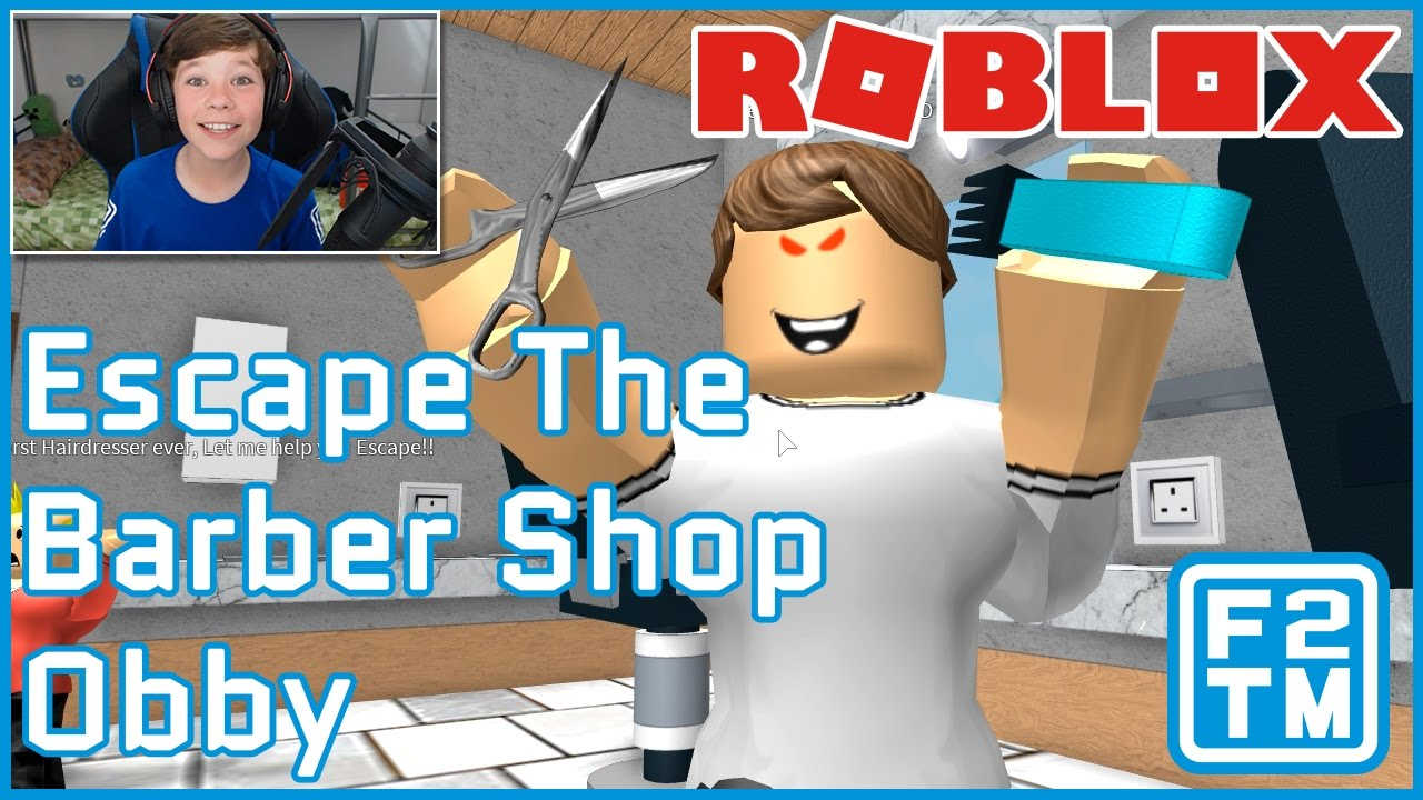 Roblox Escape The Barber Shop Obby Youtube