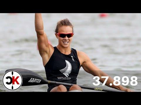 Lisa Carrington K1 200m World Record