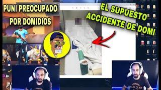 DOMIDIOS le hace creer a PUNI que tuvo un ACCIDENTE 😨  *le deja su canal de youtube* 🔥