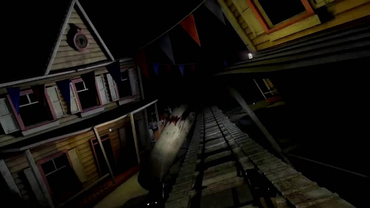 Trailer Until Dawn Rush Of Blood Playstation Vr Youtube