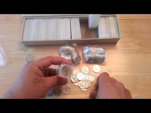 Update $100 FV Junk Washington Silver Quarters V.3