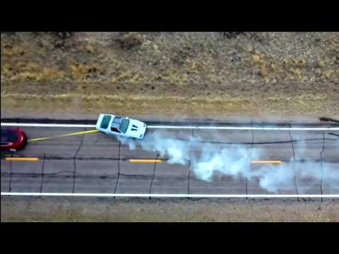 Chevy Camaro VS Tesla Model X Tug of War