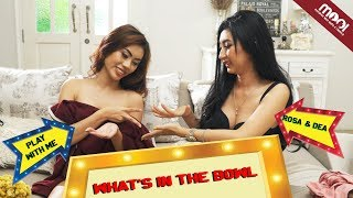 Download Video [HOT GAMES] DEA VS ROSSA - WHATS IN THE BOWL WAR, KALAH DI BUKA!! MP3 3GP MP4