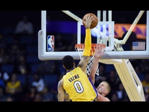 Lakers' Rookie Kyle Kuzma IMPRESSES In NBA Preseason Action! (VIDEO)