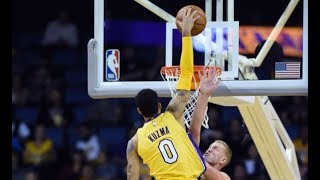 Kyle Kuzma IMPRESSES In NBA Preseason Action! | October 4th, 2017