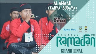 Download lagu ALAMAAK / KARYA BUDAYA || GRAND FINAL FesBan Jawa Pos 2019