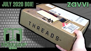 What's Inside The Zbox Threads Subscription For July 2020? | Video Unboxing