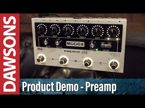 Mooer Preamp Live Digital Preamp Review