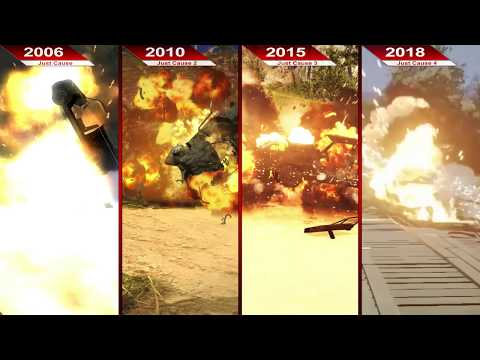THE BIG JUST CAUSE EVOLUTION 2006 - 2018   PC   ULTRA