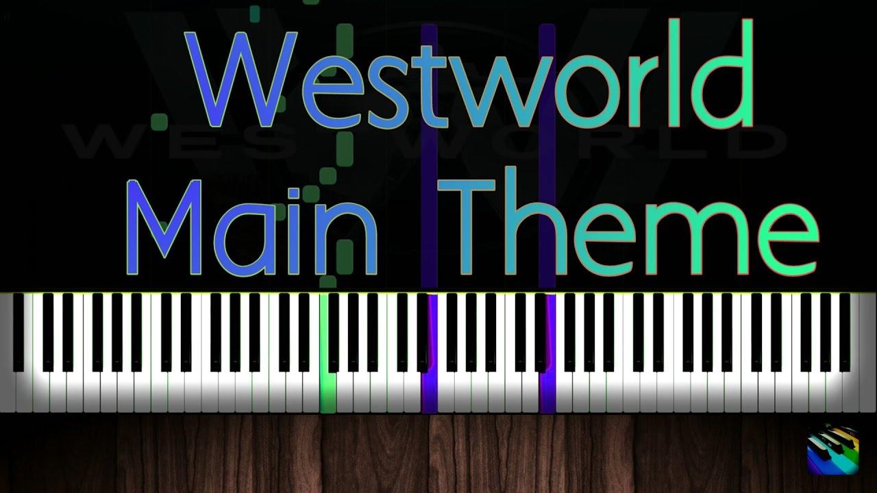 westworld theme piano