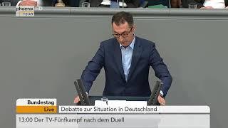 Cem Özdemir bei der Debatte zur Situation in Deutschland am 05.09.17