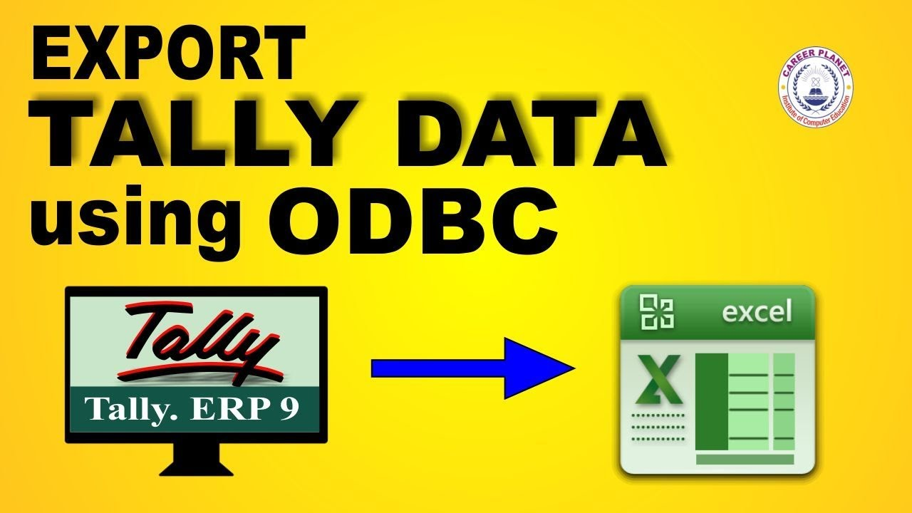 DOWNLOAD DRIVER: HOW TO INSTALL TALLY ODBC