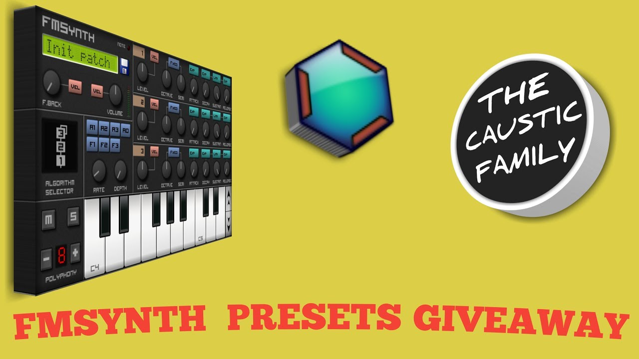 edm presets for caustic