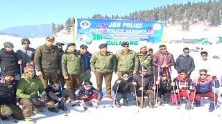 DIG North Kashmir Inaugurates  Skiing Course At Ski Resort Gulmarg