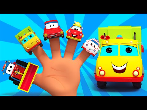Finger Family Transport | Nursery Rhymes For Kids | Vehicles For Children | Kids TV
