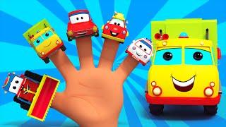 Finger Family Transport | Nursery Rhymes For Kids | Vehicles For Children  | Kids Tv