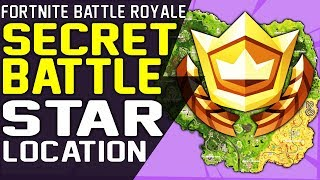 Fortnite SECRET BATTLE STAR WEEK 3 LOCATION SEASON 6 HUNTING PARTY CHALLENGE