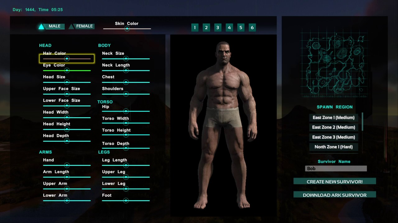 ARK: Survival Evolved Download Character