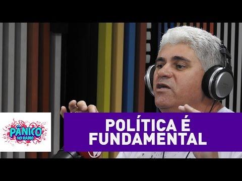 """""""Política é fundamental na vida do cidadão"""", acredita Batoré"""