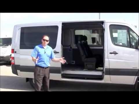 9149c07530 Mercedes-Benz Sprinter Crew Van Introduction - YouTube
