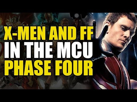The MCU X-Men And Fantastic Four: Phase Four