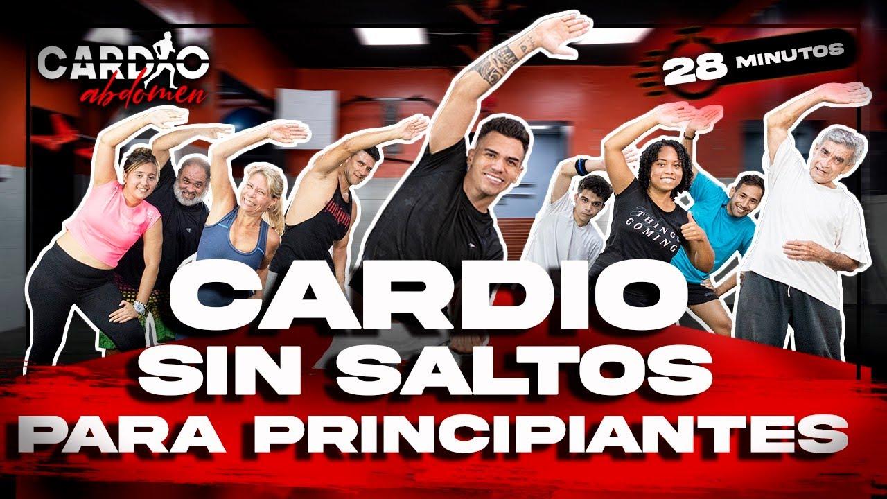 CARDIO SIN SALTOS para PERDER PESO RAPIDO | PRINCIPIANTES | 28 minutos