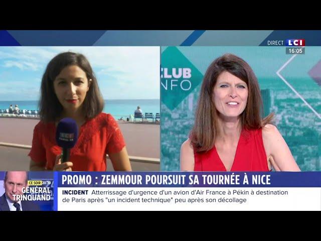 Marion Pariset, secrétaire générale du Millénaire, invitée sur LCI le 18 septembre 2021