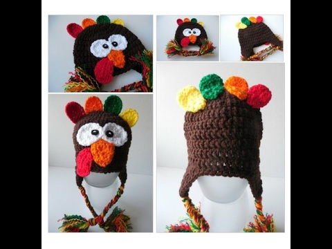 Turkey Hat Baby To Adult Sizing Handmade Crochet Youtube