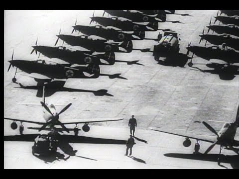 HD Historic Archival Stock Footage WWII - Alaska Russia Sky Route